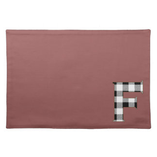 Gingham Check F Cloth Placemat