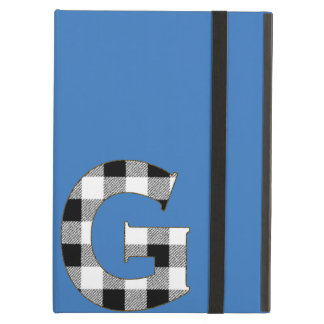 Gingham Check G iPad Air Cover