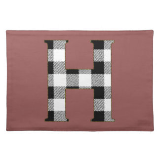 Gingham Check H Cloth Placemat
