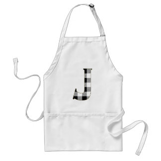 Gingham Check J Adult Apron