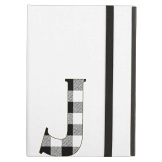 Gingham Check J Case For iPad Air