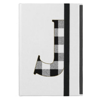 Gingham Check J Cover For iPad Mini