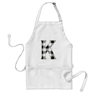 Gingham Check K Adult Apron