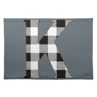Gingham Check K Cloth Placemat