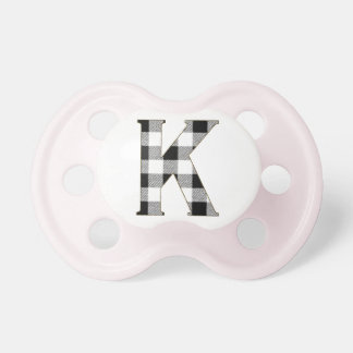 Gingham Check K Pacifier