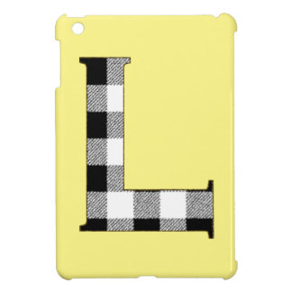 Gingham Check L Case For The iPad Mini