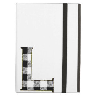 Gingham Check L iPad Air Cover