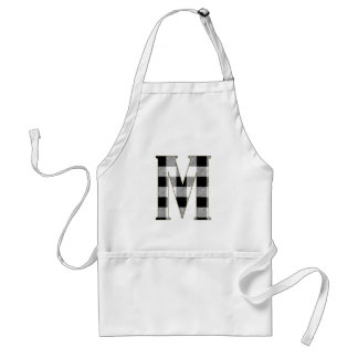Gingham Check M Adult Apron