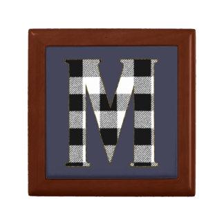 Gingham Check M Gift Box