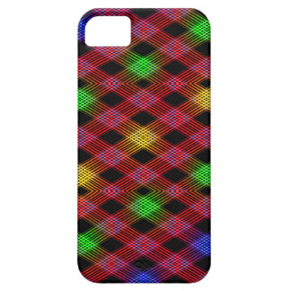Gingham Check Multicolored Pattern iPhone SE/5/5s Case