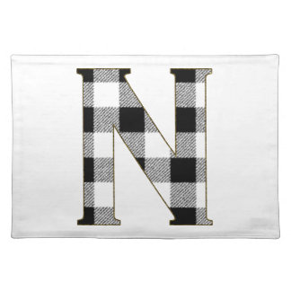 Gingham Check N Placemat