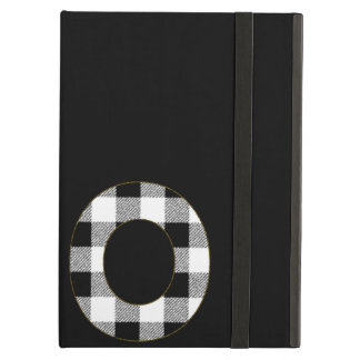 Gingham Check O Case For iPad Air