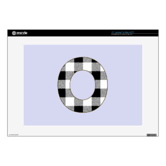 Gingham Check O Skin For Laptop