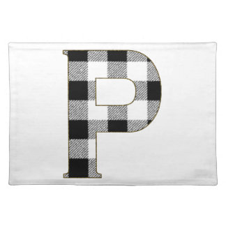Gingham Check P Cloth Placemat