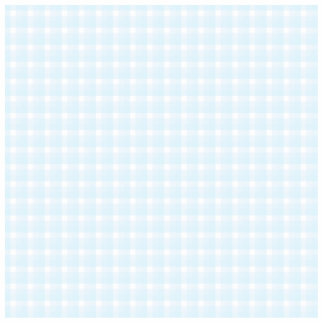 Gingham check pattern. Pale Blue and White. Statuette