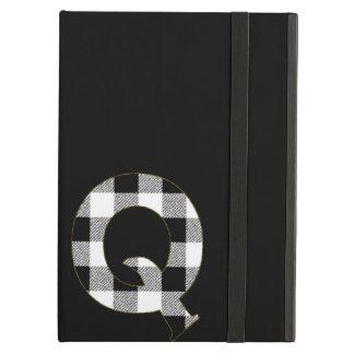 Gingham Check Q iPad Air Case