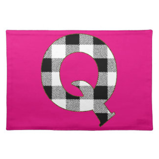 Gingham Check Q Placemat