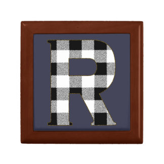 Gingham Check R Gift Box