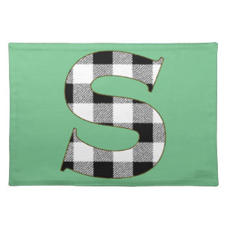 Gingham Check S Cloth Placemat