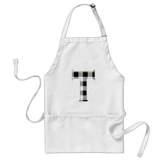 Gingham Check T Adult Apron