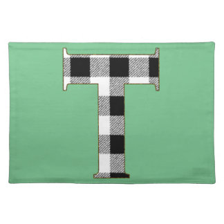 Gingham Check T Cloth Placemat