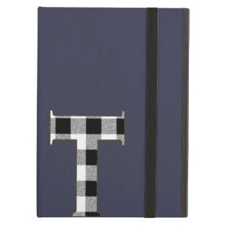 Gingham Check T Cover For iPad Air
