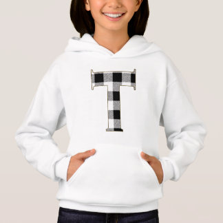 Gingham Check T Hoodie
