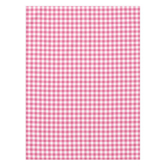 Gingham Check Tablecloth | Pink And White Checks