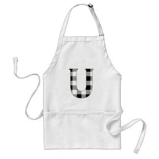 Gingham Check U Adult Apron