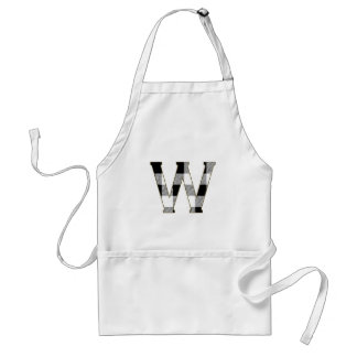 Gingham Check W Adult Apron