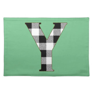 Gingham Check Y Cloth Placemat