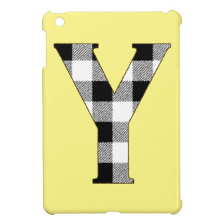 Gingham Check Y Cover For The iPad Mini