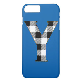 Gingham Check Y iPhone 7 Plus Case