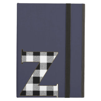 Gingham Check Z Cover For iPad Air