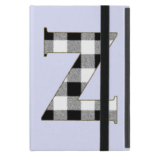 Gingham Check Z Cover For iPad Mini