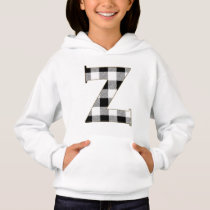 Gingham Check Z Hoodie