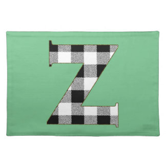 Gingham Check Z Placemat