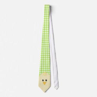 Gingham Chicken Tie