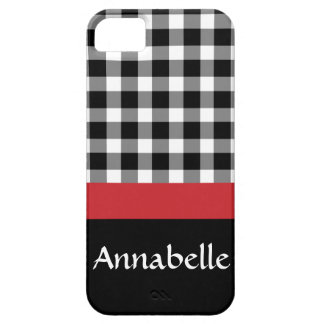 Gingham Gal iPhone SE/5/5s Case