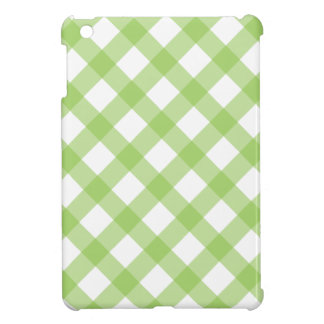 Gingham Green Pattern Case For The iPad Mini