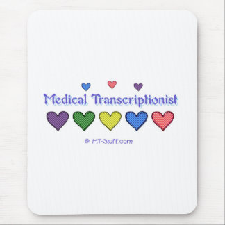 Gingham Hearts MT Mouse Pad