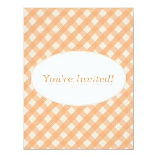 Gingham Invitation