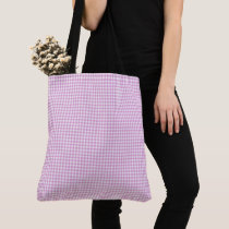 Gingham_Lav-Pink-Totes-Shoulder-Bags-Multi-Sizes Tote Bag