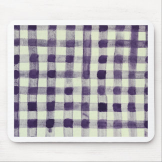 Gingham Mouse Pad