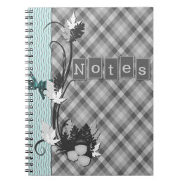Gingham Notebook