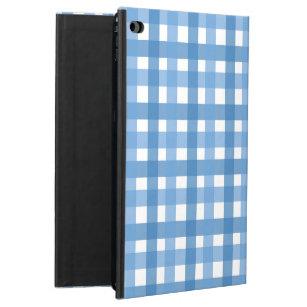 Gingham Pattern: Blue Powis iPad Air 2 Case