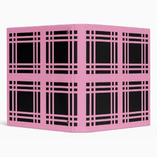 Gingham (Pink) Binder
