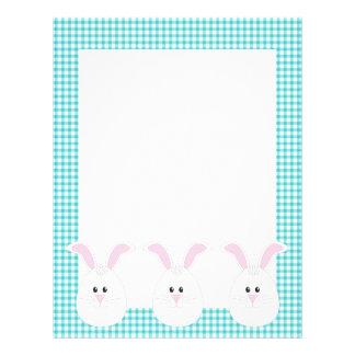 Gingham Rabbit Letterhead