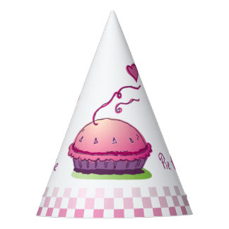 Gingham Sweetie Pie Pie Eating Contest Party Hat