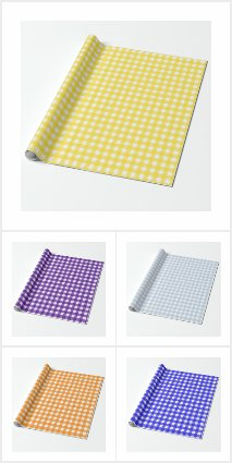 Gingham Wrapping Paper